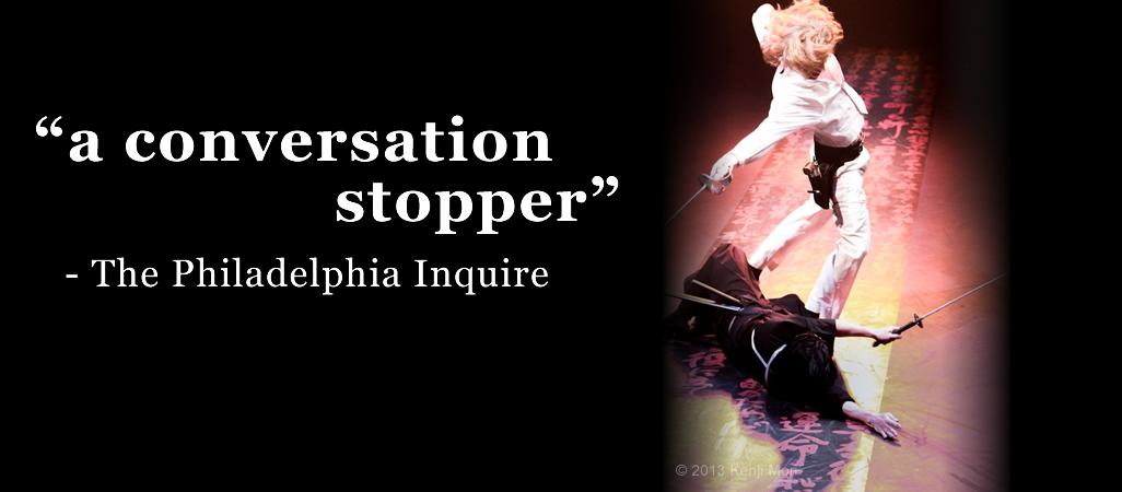 "a conversation stopper"" -The Philadelphia Inquire"
