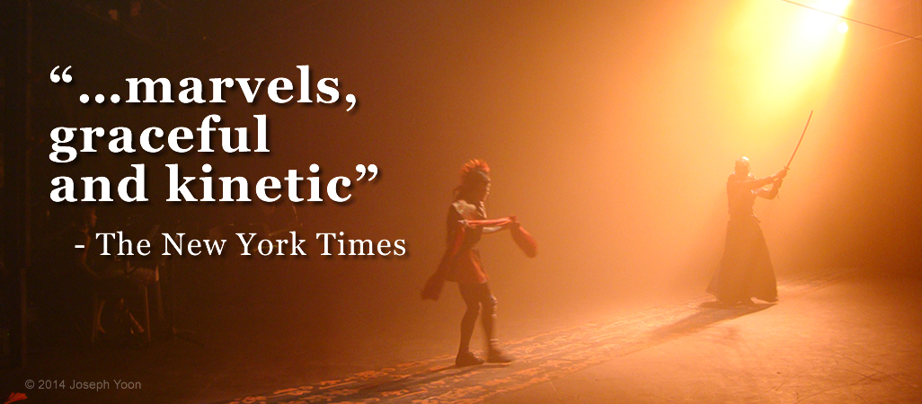 "…marvels, graceful and kinetic""- The New York Times"