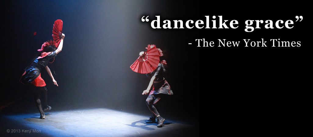"dancelike grace""- The New York Times"